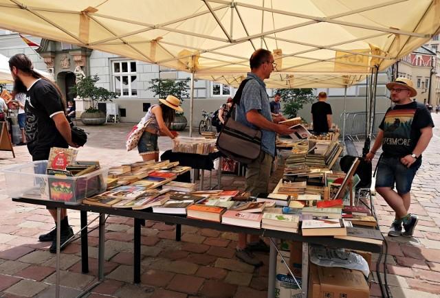 Kiermasz książek w Krakowie