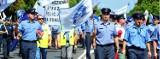 Protest służb mundurowych. Pod sejmem rośnie miasteczko, w czwartek pikieta