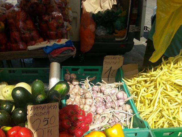 Ceny owoców i warzyw na łódzkich targowiskach