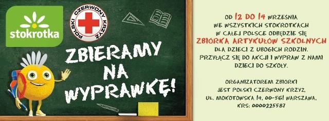 Polski Czerwony Krzyż organizuje zbiórkę w sklepach Stokrotka