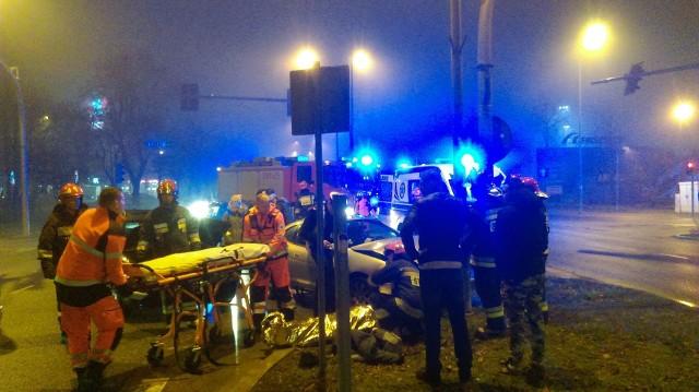 W niedzielę, po godz. 17, na Jana Pawła II w Białymstoku doszło do wypadku.