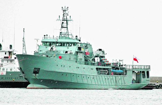 Po zakończonej akcji ratowniczej załoga polskiego okrętu wróciła do swoich obowiązków