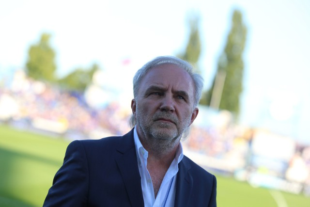 Janusz Paterman był prezesem Ruchu niecały miesiąc.