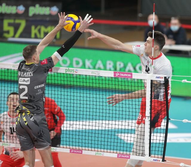 Wynik meczu będzie w dużej mierze zależał od dyspozycji Mariusza Wlazłego i Klemena Cebulja walczących na siatce