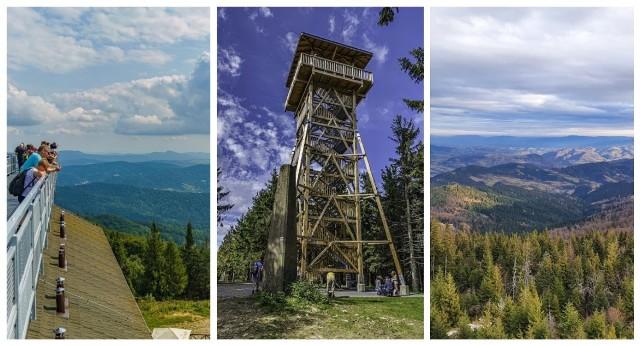 Punkty i wieże widokowe w Beskidach