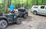 Szarżujący kierowcy quadów niemal rozjechali strażników leśnych w Mikołowie