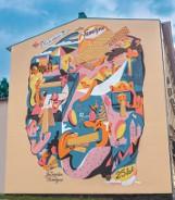Mural na 25-lecie wafli Familijnych. Ich historia zaczęła się w Bydgoszczy [wideo]