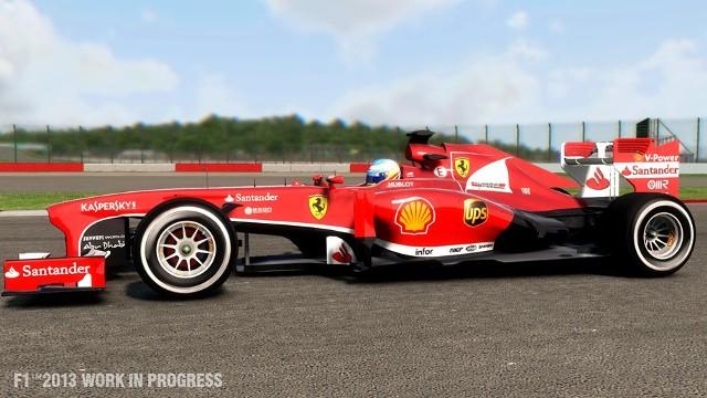 F1 2013F1 2013: Fernando Alonso na torze Autodromo Nazionale di Monza.