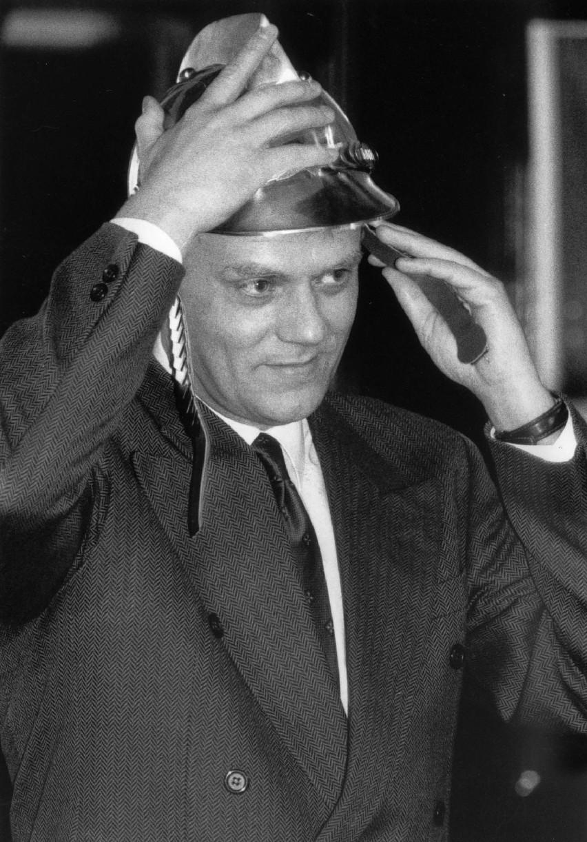 Donald Tusk na archiwalnych zdjęciach