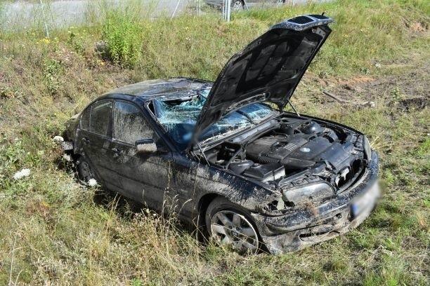 Wypadek na S8 w Turzynie, 21.07.2020