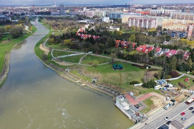 Plan zagospodarowania ma objąć tereny na prawym brzegu Wisłoka.