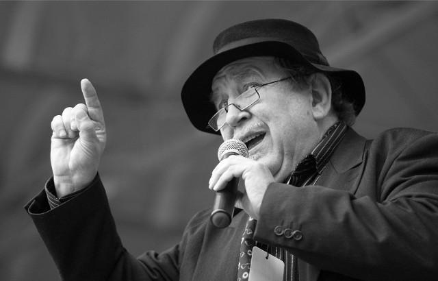 Maj 2010 roku - Festiwal kabaretowy poświęcony Andrzejowi Waligórskiemu, na zdjęciu Stanisław Wolski