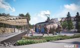 Centrum Kłaja zmieni się nie do poznania. Powstanie atrakcyjny park. Ruszają prace [WIZUALIZACJE]