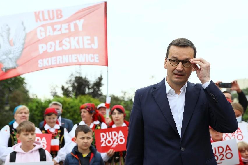 Mateusz Morawiecki wspiera kampanię Andrzeja Dudy