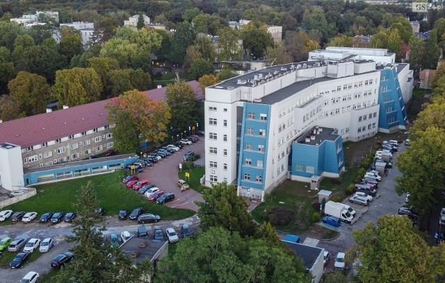 Szpital przy Arkońskiej w Szczecinie.