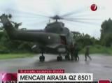 Ratownicy odnaleźli szczątki samolotu AirAsia, który zaginął w niedzielę nad Morzem Jawajskim