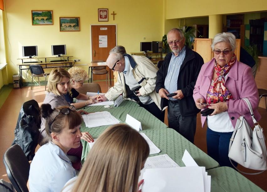 Wybory do PE. Głosowanie w Miastku
