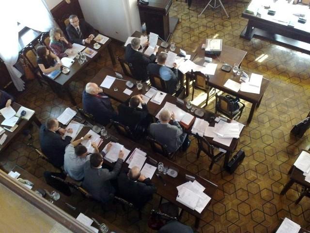 Sesja Rady Miasta Rzeszowa.