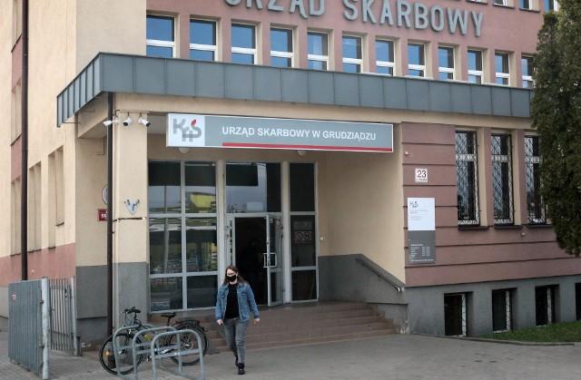 W ostatnich dniach kolejek do Urzędu Skarbowego w Grudziądzu nie ma