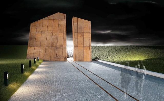 Tak ma wyglądać pomnik Ofiar Deportacji Mieszkańców Górnego Śląska do Związku Sowieckiego w 1945 roku.Zobacz kolejne zdjęcia. Przesuwaj zdjęcia w prawo - naciśnij strzałkę lub przycisk NASTĘPNE