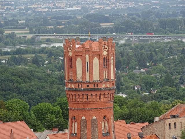 Chełmno - tak wygląda miasto z najwyższego punktu widokowego w mieście