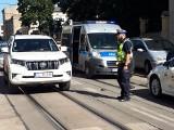 Wypadek na ul. Kopernika. Potrącona przez samochód 10-letnia dziewczynka trafiła do szpitala