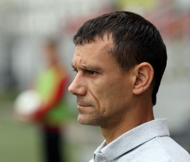 Trener Paweł Zegarek