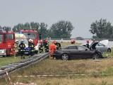 Tragiczny wypadek na autostradzie. Jedna osoba zginęła na miejscu [zdjęcia]