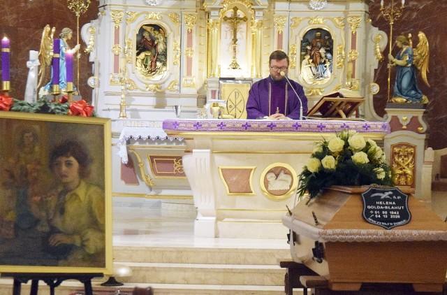 Pogrzeb Heleny Goldy-Błahut w TychachZobacz kolejne zdjęcia. Przesuwaj zdjęcia w prawo - naciśnij strzałkę lub przycisk NASTĘPNE