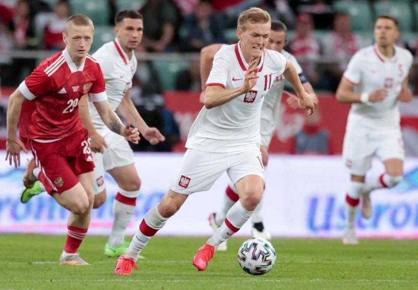 1.06.2021 wroclaw stadion mecz towarzyski pilka nozna...