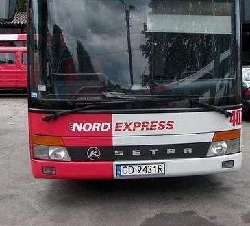 Autobus Nord Express.