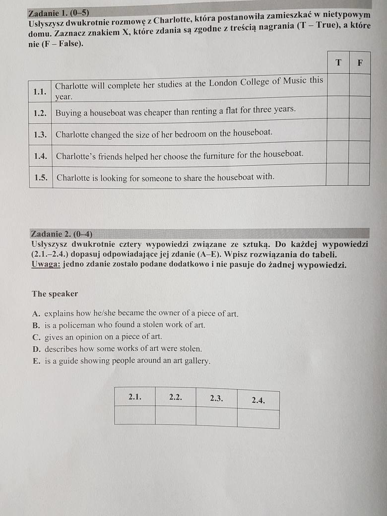 matura 2017 angielski podstawowy
