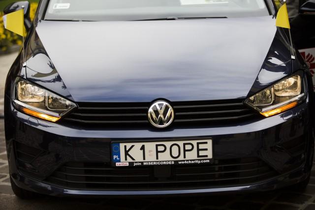 Motor Show 2017: Samochód Franciszka sprzedany za 82 tys. zł