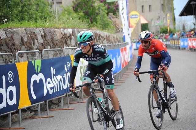 Rafał Majka prezentuje dobrą formę podczas wyścigu Tour of the Alps.