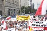 Protest sadowników w Warszawie. Rolnictwo jest w złej kondycji. Gospodarze liczą na nowego ministra