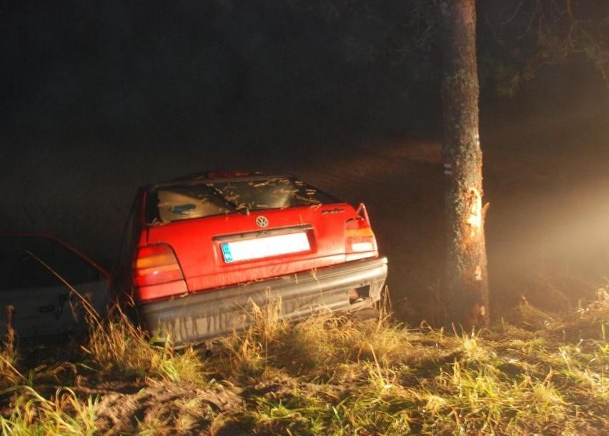 Do śmiertelnego wypadku doszło niedaleko wsi Borzyszkowy