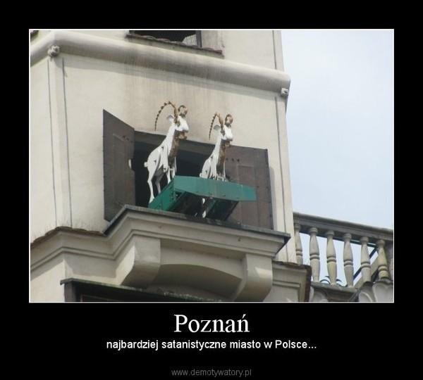 Poznań na demotywatorach