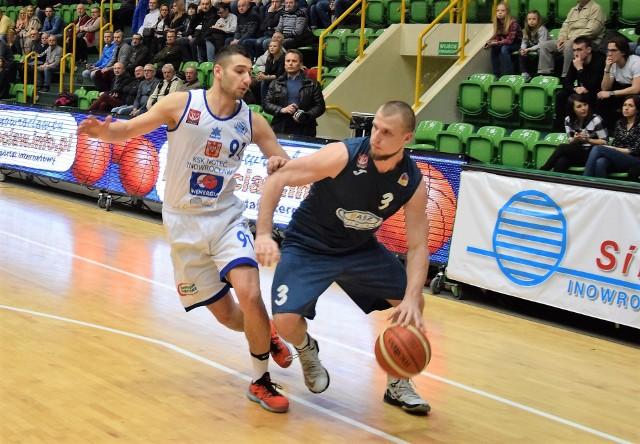 Do KSK Noteć powrócił Dawid Adamczewski (po lewej)
