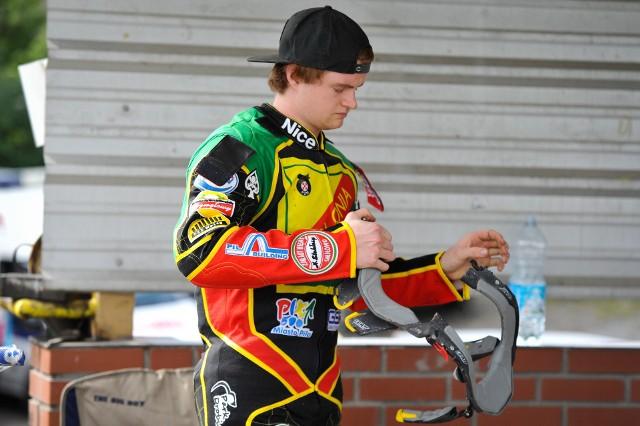 Brady Kurtz, nowy żużlowiec Orła Łódź, podczas startów w Polonii Piła