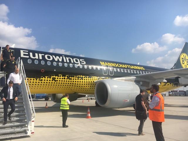 Samolot Borussii Dortmund