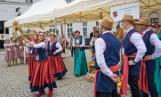 Misterny wieniec dożynkowy ze Strużala w gminie Chełmża zawędrował na specjalne dożynki w Pałacu Prezydenckim
