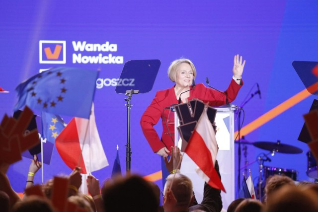 """Wanda Nowicka jest """"jedynką"""" na liście Wiosny Roberta Biedronia w naszym województwie."""