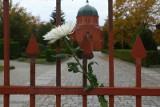 Uwięzieni na cmentarzu we Wrocławiu. Starsi ludzie musieli przechodzić przez ogrodzenie [FILM]
