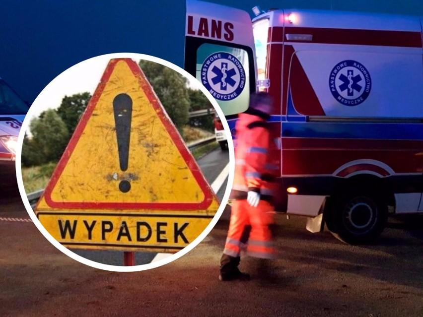 Na drodze krajowej numer 10 doszło dziś do wypadku.