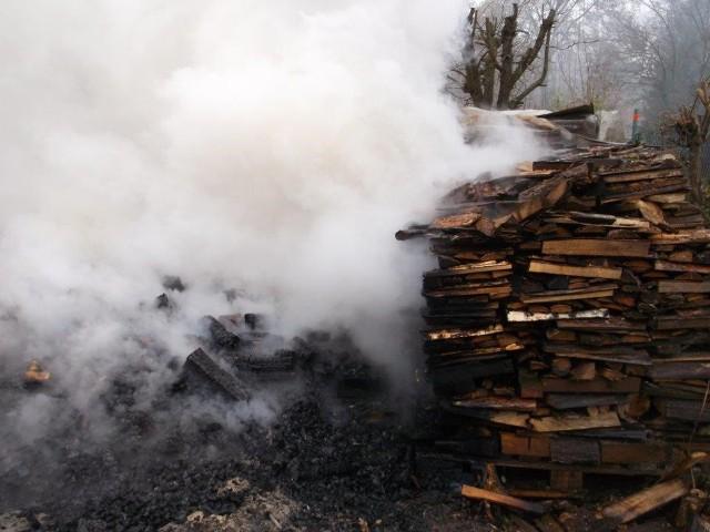 Pożar wybuchł o 10.30.