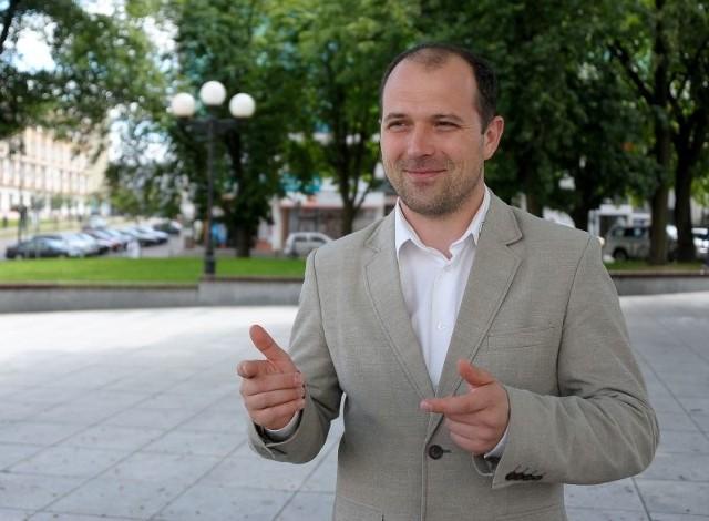 Adam Kamiński zachęca do selektywnej zbiórki odpadów