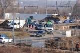 Uwaga kierowcy jadący przez Naramowice - są korki przy ul. Sielawy, jedynej dojazdowej do osiedli