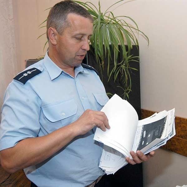 Asp. Józef Żybura: - Często ukaranie kierowcy na podstawie zdjęcia z fotoradaru w ciągu miesiąca jest niemożliwe.