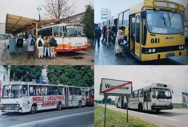 Kultowe autobusy na podlaskich drogach. Jeździliście takimi?
