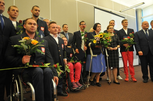 Wszyscy nasi paraolimpijczycy ze Startu Gorzów.